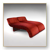 SOFA, MERIDIENNE, CHAISE LONGUE