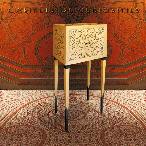 CABINETS OF CURIOSITIES. ART, DESIGN AND LUXURY FURNITURE