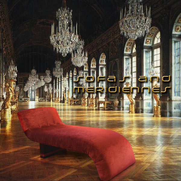 SOFAS AND MERIDIENNES. ART, DESIGN AND LUXURY FURNITURE